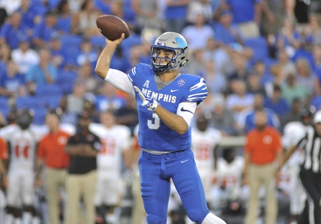 Memphis vs. Georgia State - 9/14/18 College Football Pick, Odds, and Prediction