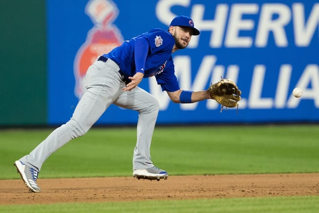 MLB | Chicago Cubs (79-55) at Philadelphia Phillies (72-62)