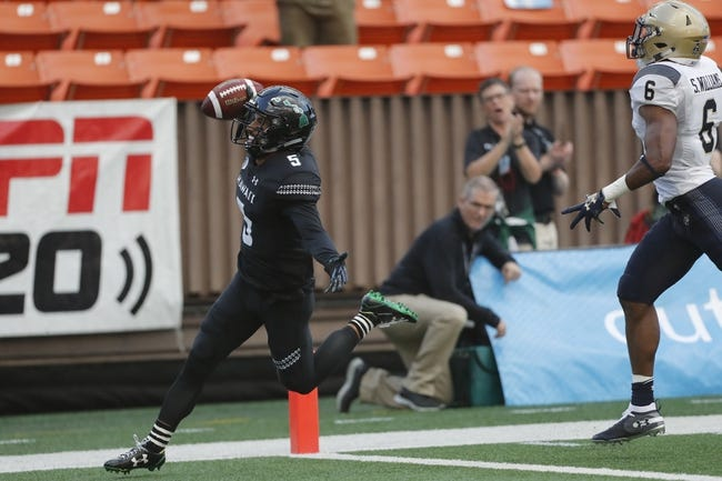 Army vs. Hawaii - 9/15/18 College Football Pick, Odds, and Prediction