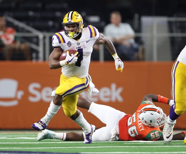 LSU vs. Southeastern Louisiana - 9/8/18 College Football Pick, Odds, and Prediction