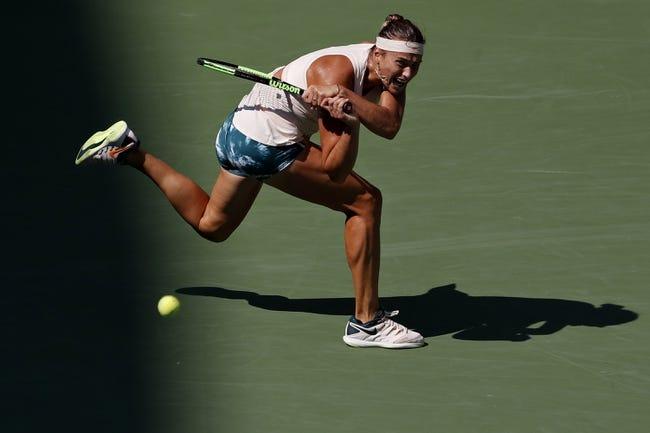Aryna Sabalenka vs Timea Bacsinszky 2018 Tianjin Open Tennis Pick, Preview, Odds, Prediction