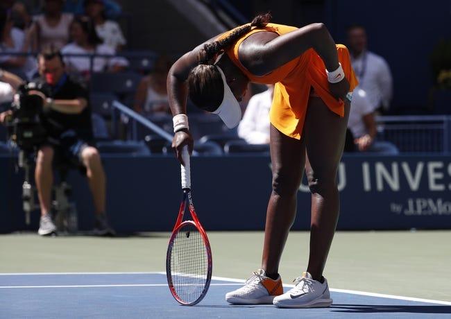 Tennis   Pauline Parmentier vs Sloane Stephens