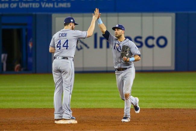 Toronto Blue Jays vs. Tampa Bay Rays - 9/5/18 MLB Pick, Odds, and Prediction