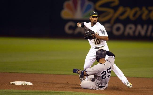 MLB | New York Yankees (87-52) at Oakland Athletics (83-57)