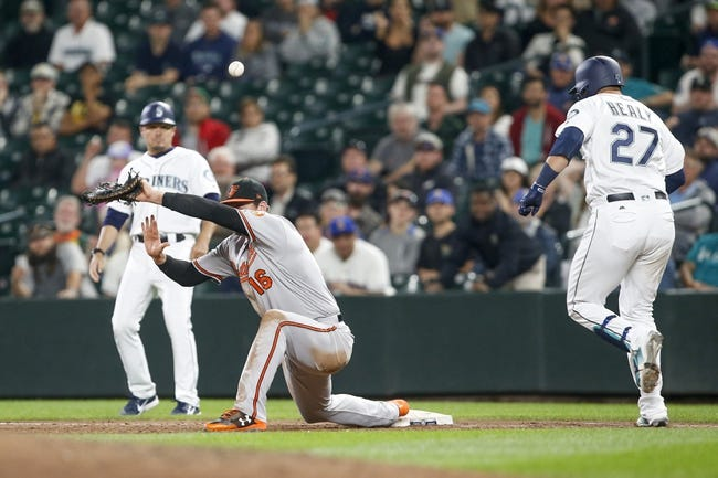 Seattle Mariners vs. Baltimore Orioles - 9/5/18 MLB Pick, Odds, and Prediction