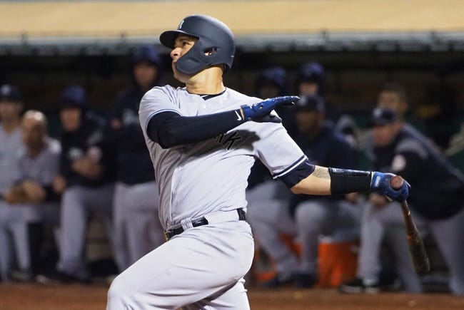 Oakland Athletics at New York Yankees - 10/3/18 MLB Pick, Odds, and Prediction
