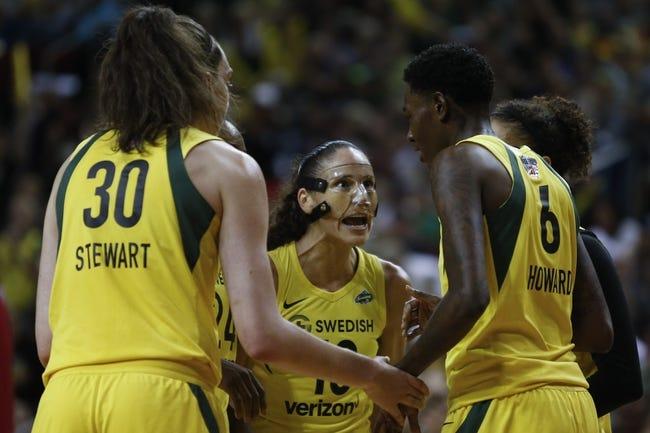 Seattle Storm vs. Washington Mystics - 9/9/18 WNBA Pick, Odds, and Prediction