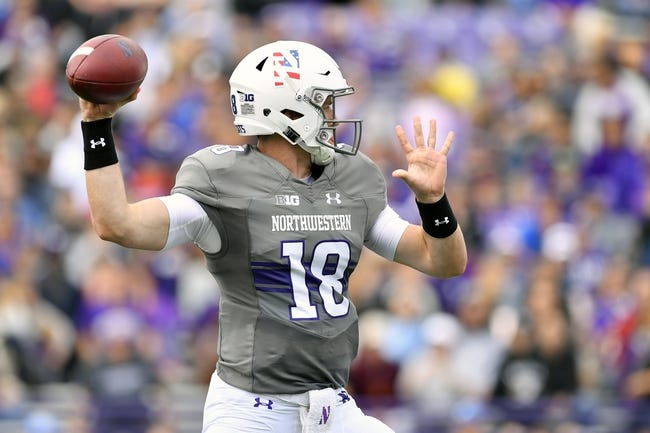 CFB | Akron Zips (1-0) at Northwestern Wildcats (1-1)