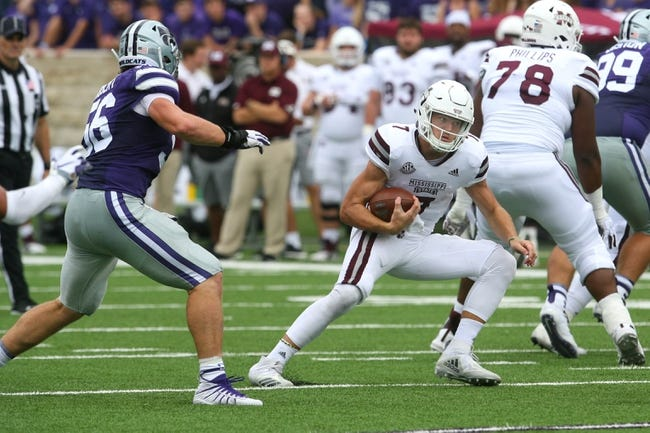 Mississippi State vs. Louisiana-Lafayette - 9/15/18 College Football Pick, Odds, and Prediction