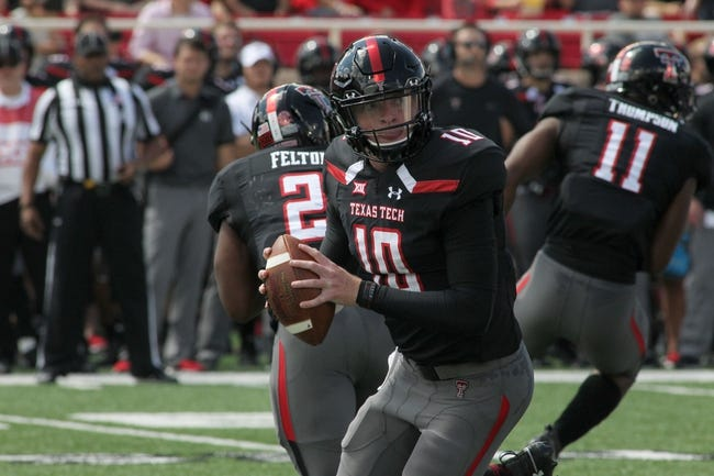 Texas Tech vs. Houston - 9/15/18 College Football Pick, Odds, and Prediction
