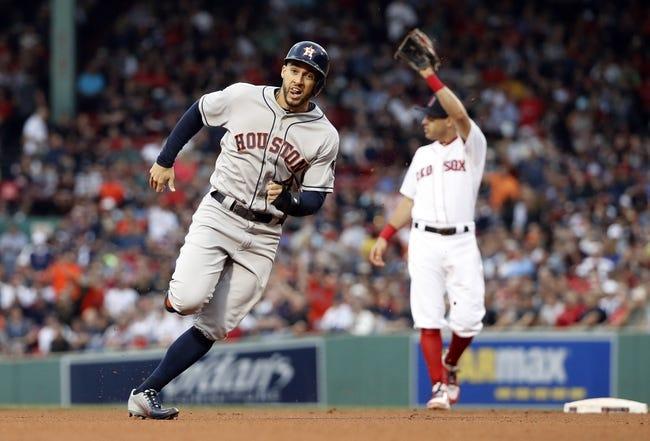 Boston Red Sox vs. Houston Astros - 9/9/18 MLB Pick, Odds, and Prediction