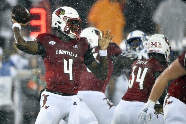 Louisville vs. WKU - 9/15/18 College Football Pick, Odds, and Prediction