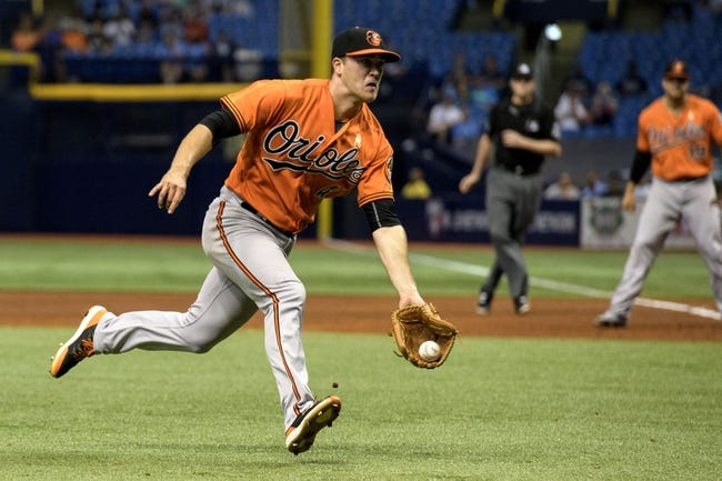 Tampa Bay Rays vs. Baltimore Orioles - 9/9/18 MLB Pick, Odds, and Prediction