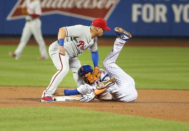 New York Mets vs. Philadelphia Phillies - 9/9/18 MLB Pick, Odds, and Prediction