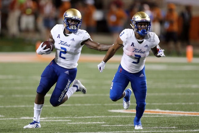 CFB | SMU Mustangs (5-6) at Tulsa Golden Hurricane (2-9)