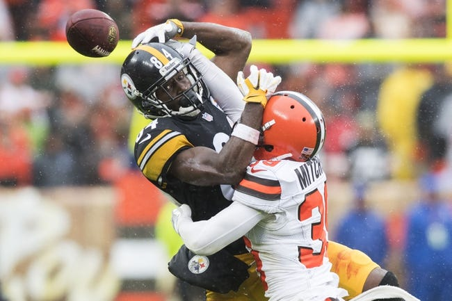 Cleveland Browns at Pittsburgh Steelers - 10/28/18 NFL Pick, Odds, and Prediction