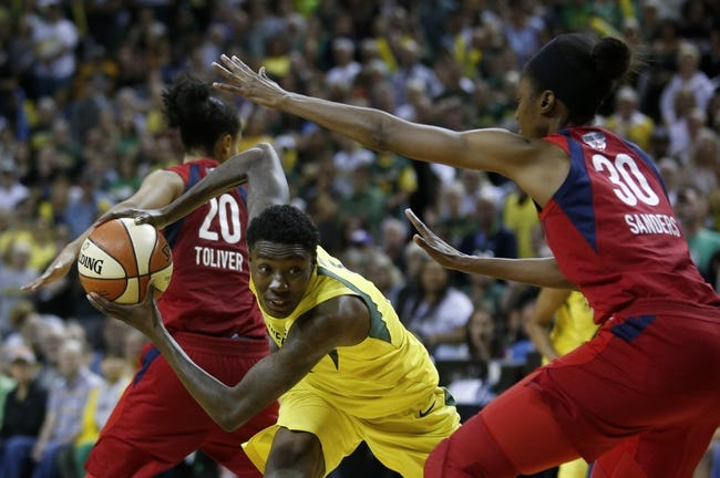 WNBA | Seattle Storm (31-10) vs. Washington Mystics (26-16)