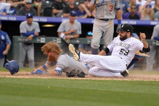 Los Angeles Dodgers vs. Colorado Rockies - 9/17/18 MLB Pick, Odds, and Prediction
