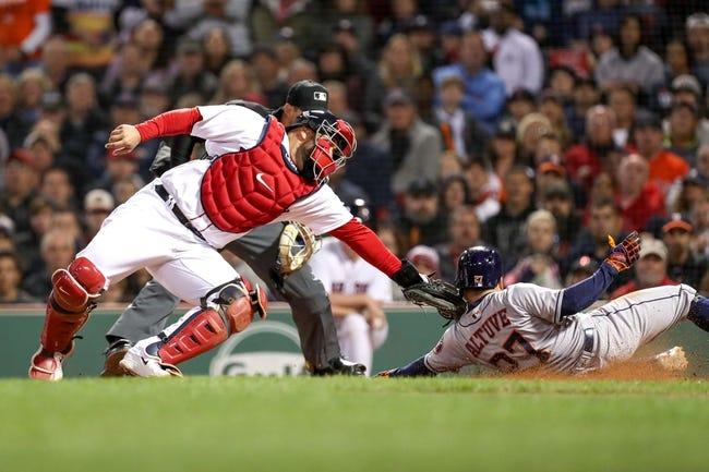 Boston Red Sox vs. Houston Astros ALCS Game 1 - 10/13/18 MLB Pick, Odds, and Prediction