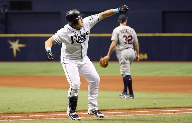 Tampa Bay Rays vs. Cleveland Indians - 9/11/18 MLB Pick, Odds, and Prediction