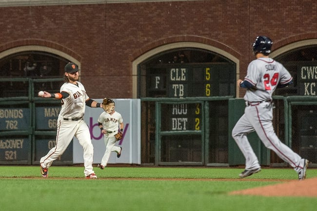 San Francisco Giants vs. Atlanta Braves - 9/11/18 MLB Pick, Odds, and Prediction