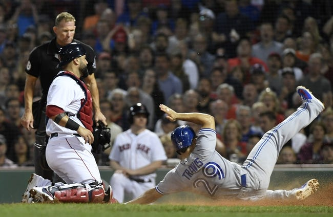 Boston Red Sox vs. Toronto Blue Jays - 9/12/18 MLB Pick, Odds, and Prediction