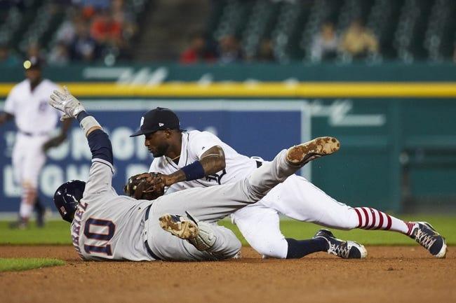 MLB | Houston Astros (90-54) at Detroit Tigers (59-85)
