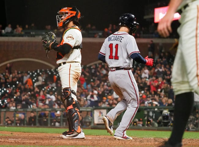 MLB | Atlanta Braves (81-64) at San Francisco Giants (68-78)