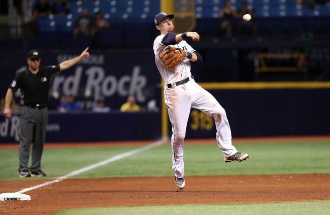 Tampa Bay Rays vs. Oakland Athletics - 9/15/18 MLB Pick, Odds, and Prediction