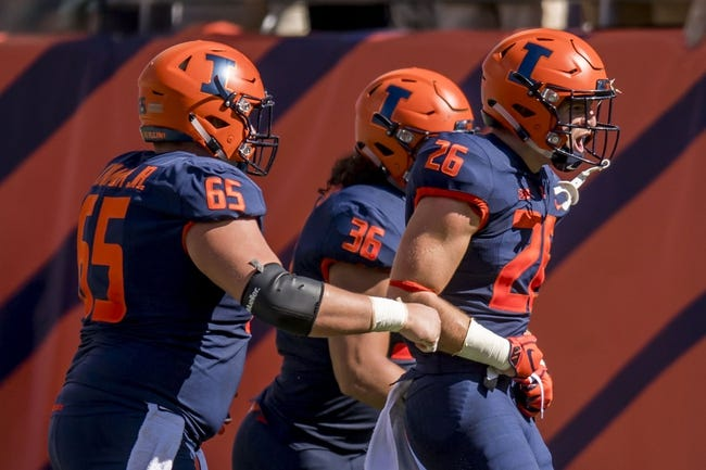 CFB | Penn State Nittany Lions (3-0) at Illinois Fighting Illini (2-1)