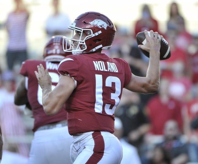 Auburn vs. Arkansas - 9/22/18 College Football Pick, Odds, and Prediction