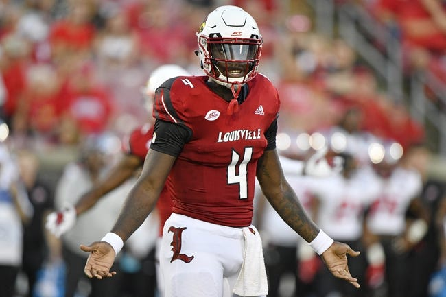 CFB | Louisville Cardinals (2-1) at Virginia Cavaliers (2-1)