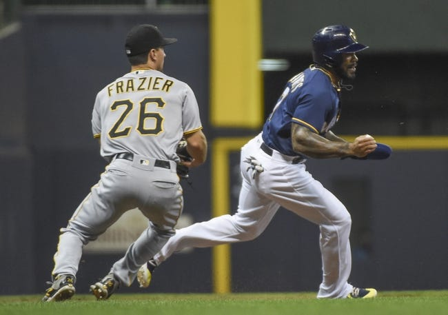 Milwaukee Brewers vs. Pittsburgh Pirates - 9/16/18 MLB Pick, Odds, and Prediction