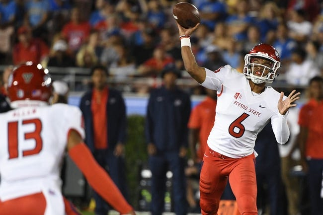 Fresno State vs. Wyoming - 10/13/18 College Football Pick, Odds, and Prediction