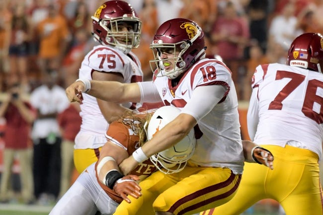 Washington State at USC - 9/21/18 College Football Pick, Odds, and Prediction
