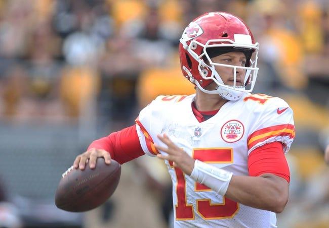 Kansas City Chiefs vs. San Francisco 49ers - 9/23/18 NFL Pick, Odds, and Prediction