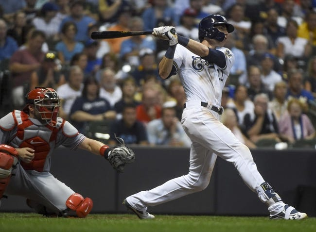 Milwaukee Brewers vs. Cincinnati Reds - 9/18/18 MLB Pick, Odds, and Prediction