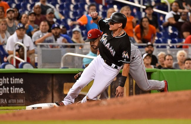 MLB | Cincinnati Reds (66-88) at Miami Marlins (59-93)