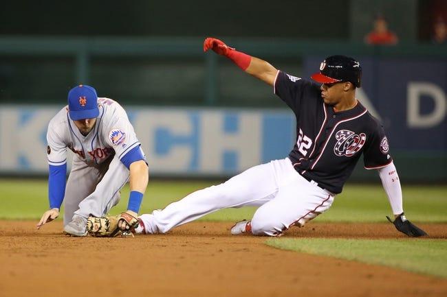 Washington Nationals vs. New York Mets - 9/22/18 MLB Pick, Odds, and Prediction