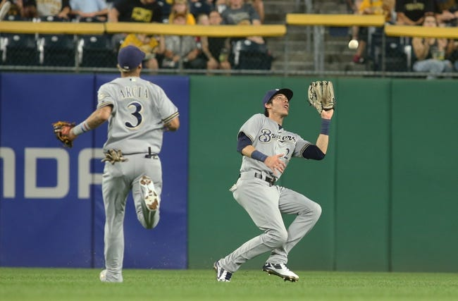 Pittsburgh Pirates vs. Milwaukee Brewers - 9/22/18 MLB Pick, Odds, and Prediction