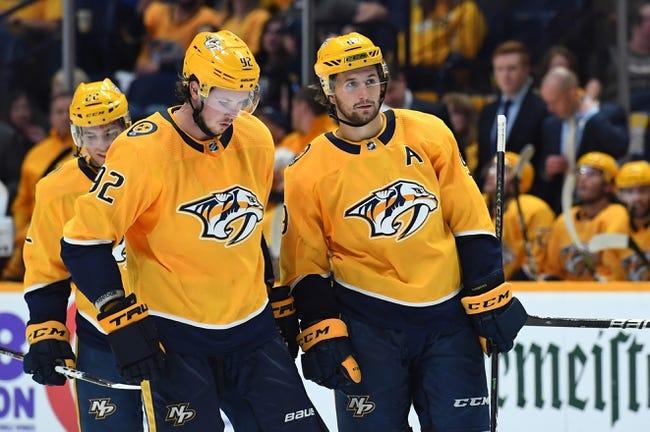 Tampa Bay Lightning vs. Nashville Predators - 11/1/18 NHL Pick, Odds, and Prediction