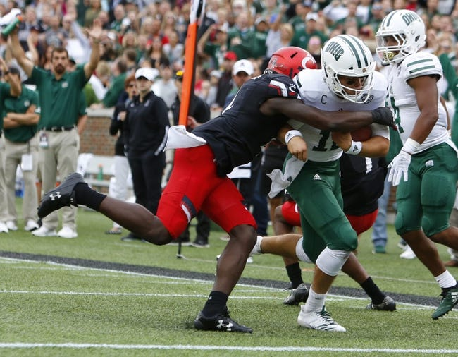 Ohio vs. Ball State - 10/25/18 College Football Pick, Odds, and Prediction