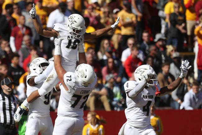 Akron vs. Miami-OH - 10/6/18 College Football Pick, Odds, and Prediction