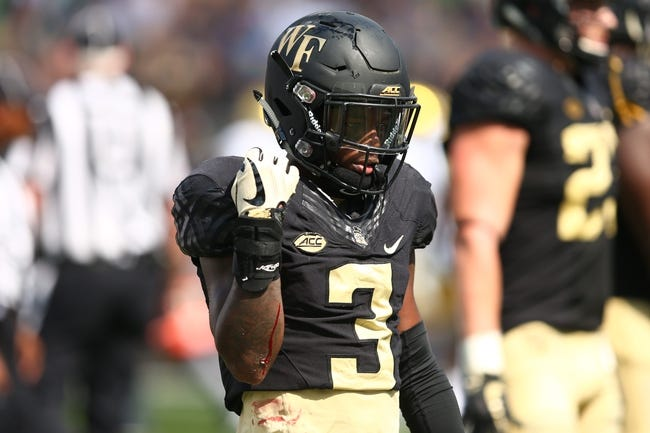 CFB | Rice Owls (1-3) at Wake Forest Demon Deacons (2-2)