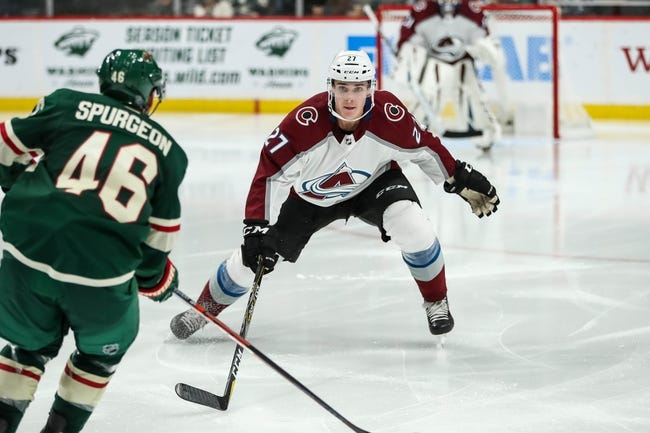 Colorado Avalanche vs. Minnesota Wild - 10/4/18 NHL Pick, Odds, and Prediction