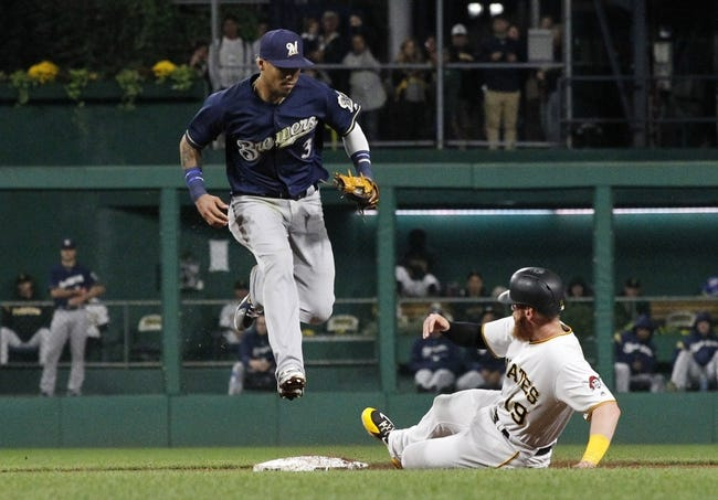 Pittsburgh Pirates vs. Milwaukee Brewers - 9/23/18 MLB Pick, Odds, and Prediction