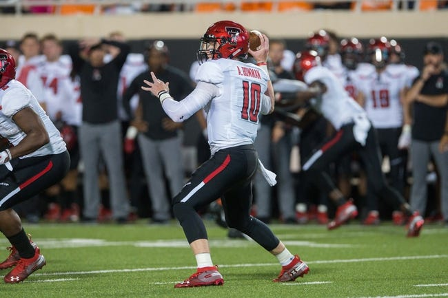 CFB | West Virginia Mountaineers (3-0) at Texas Tech Red Raiders (3-1)