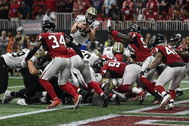 NFL | Atlanta Falcons (4-6) at New Orleans Saints (9-1)
