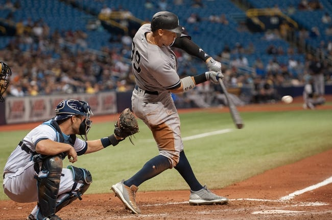 Tampa Bay Rays vs. New York Yankees - 9/25/18 MLB Pick, Odds, and Prediction