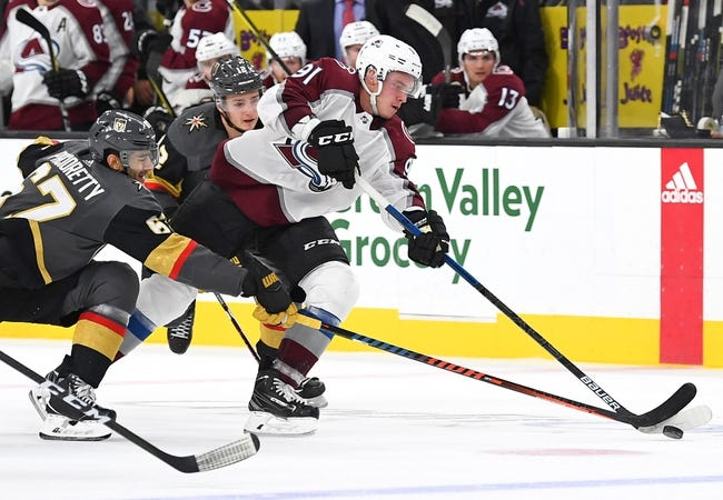 NHL | Colorado Avalanche (19-12-6) at Vegas Golden Knights (20-15-4)